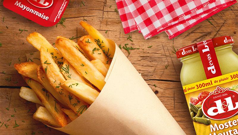 Frites & ketchup Devos & Lemmens