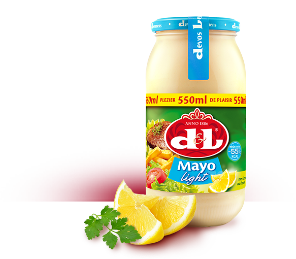 Mayo light met citroen -55% kcal