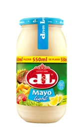 Mayo light au citron -55% kcal