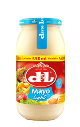 Mayo light met ei
