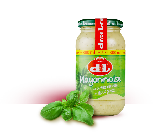 Mayonnaise au goût pesto