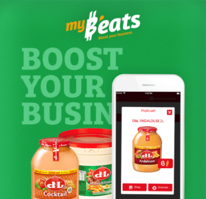 My b'eats application Devos & Lemmens