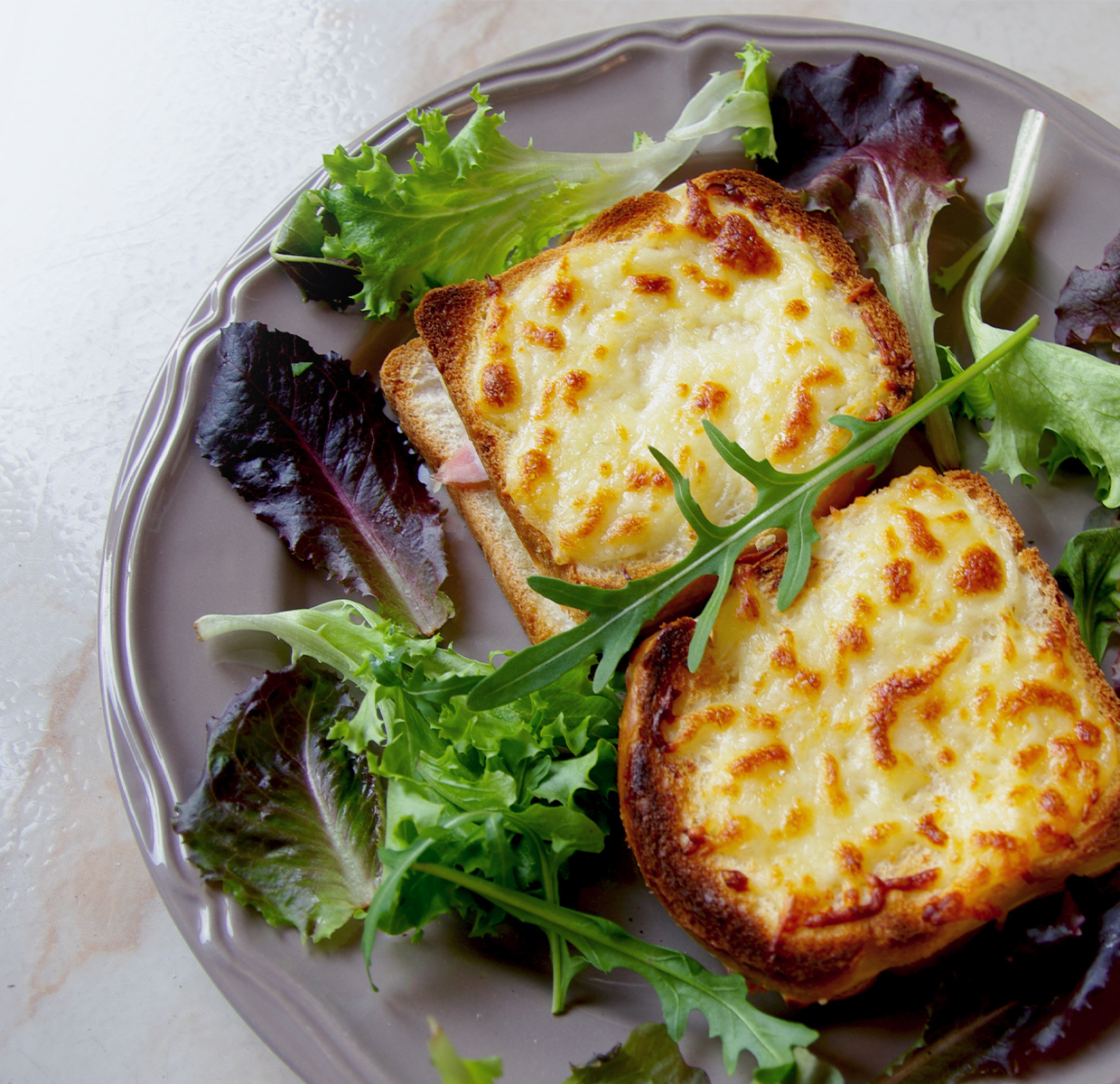 Italiaanse croque monsieur
