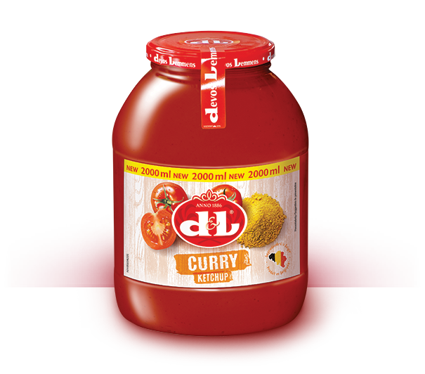 Curry Ketchup – 2L